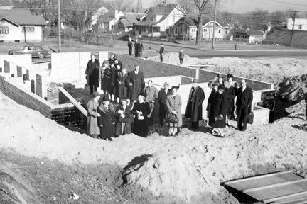 Church Construction 1941