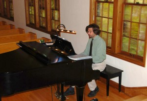Joel at the Piano